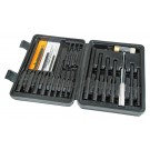 Wheeler Engineering Master Roll Pin Punch Set Kit Chasse Goupilles 19-Pièces