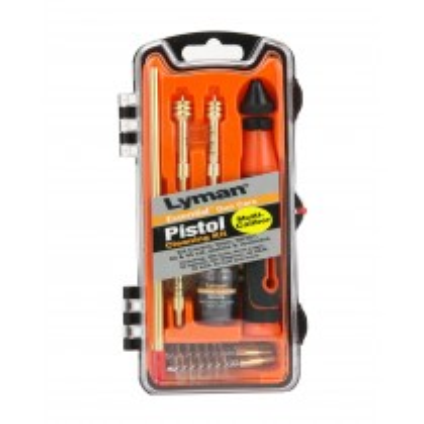 Lyman Essential Pistol Cleaning Kit 9MM,40CAL,45ACP