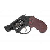 Pachmayr G10 Tactical Grips Ruger LCR Red/Black Checkered
