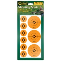 Caldwell Cibles Pastilles Rondes Oranges 25MM & 50MM 12 Planches