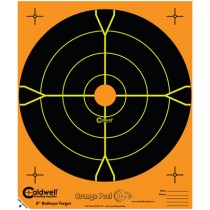 Caldwell Orange Peel Cible 20cm Autocollante Bullseye x25