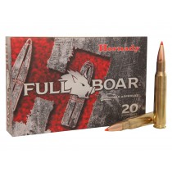 Hornady 81163 Munitions 30-06 Springfield 165gr Full Boar  GMX x20