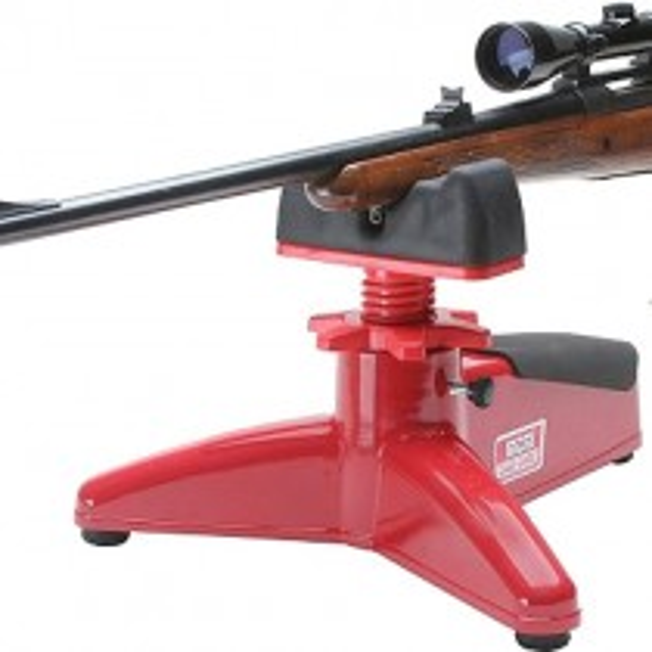 MTM FRR-30 Front Rifle & Pistol Rest Support pour Arme Rouge