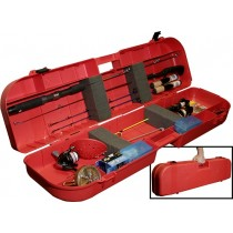 MTM Ice Fishing Rod Box Red