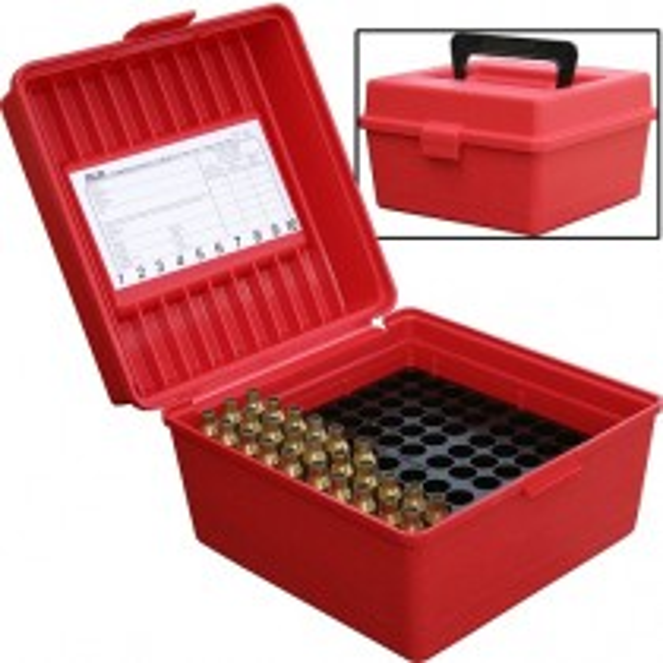 MTM R-100-Mag Boite à Munitions Rouge