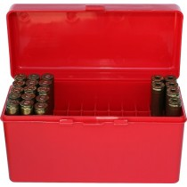 MTM RL-60 Boîte À Munitions Flip-Top 270 Win 30-06 25-06 Rouge