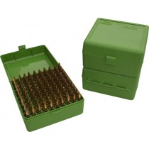 MTM RM-100 Boîtes À Munitions  Flip-Top 22-250 243 308 Win 220 Swift Vert