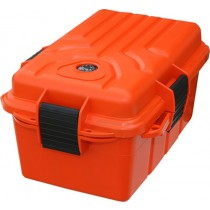 MTM Survivor Grande Boîte De Transport Etanche 25X17.8X12.7cm Orange