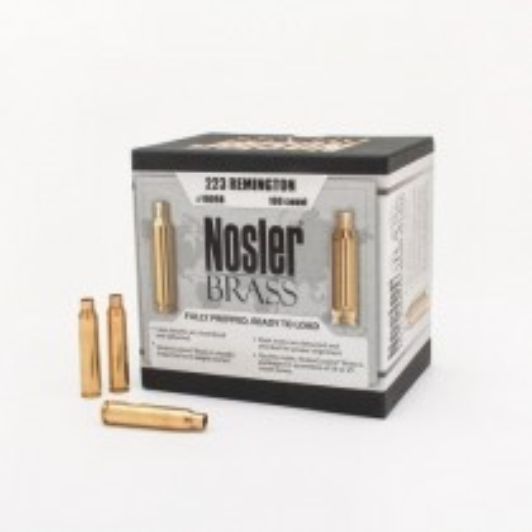 Nosler Custom Douilles 223 Remington x50