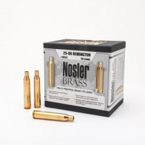 Nosler Custom Douilles 25-06 Remington x50
