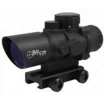 Sun Optics USA Tactical Precision Point Rouge Prismatique 3x32mm Avec Réticule Illuminé