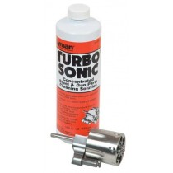 Lyman Turbo Sonic Gun Parts Cleaning Solution de Nettoyage Ultrasons 473ml