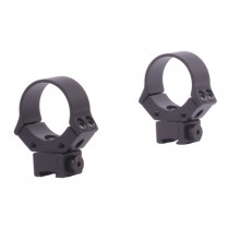 Sun Optics USA Bagues 30mm Haut Armes A Air Comprimé Noires