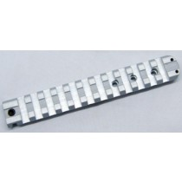 Sun Optics USA Embase 1-Pièce Smith & Wesson K,L,N Frame Argentée