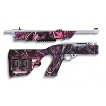 Tacstar Take Down Adaptive Tactical Stock Ruger 10-22 - Muddy Girl Pink