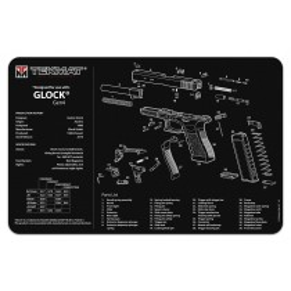 TekMat Tapis de Nettoyage Glock Gen 4